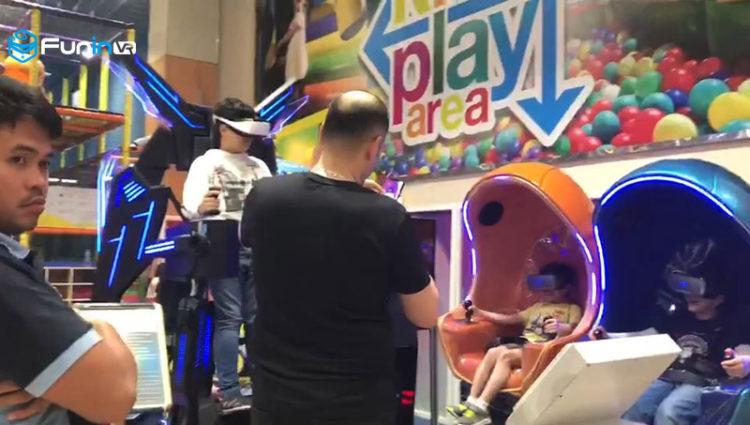 Egg 9D Cinema Simulator VR Oculus Rift 9D Virtual Reality Cinema