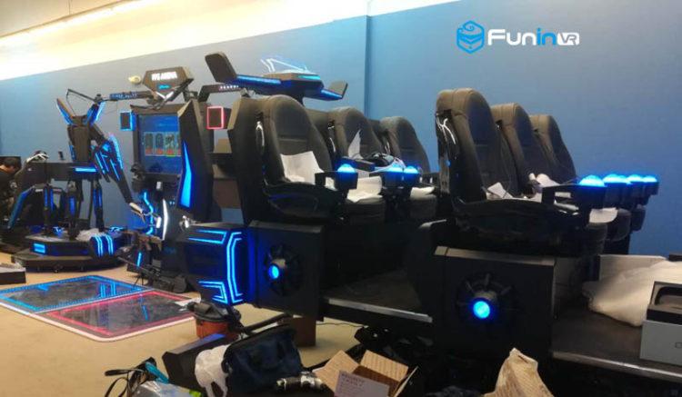 Virtual Reality Simulators & 9D VR Machines For Sale