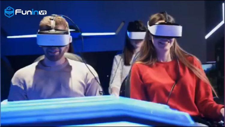 Amusement equipment virtual reality 9d vr simulator shooting game machine