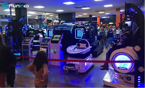 Chinese Professional One Stop Solution Service Amusement Equipment VR Theme Park for Sale