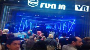 High profit 6 Seats VR simulator  game machine agent in Egypt