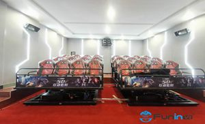 24 Seats 5D Movie Theater project In China