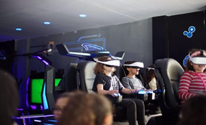 6 Seats 9d vr dark mars thrilling and exciting