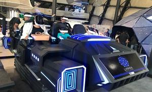 6 Seats VR Dark Mars shines In Planetario Lunaria