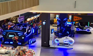 VR arcade games with 9d simulators In Serbia